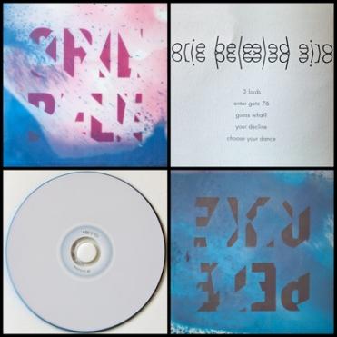 Oriebele - Album Cover Design, Cover und Inlay, Druck auf Transparentpapier, © David Kröswang