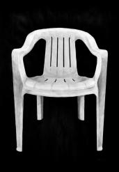 the chair, Tusche auf Papier, 70 x 100 cm, © David Kröswang