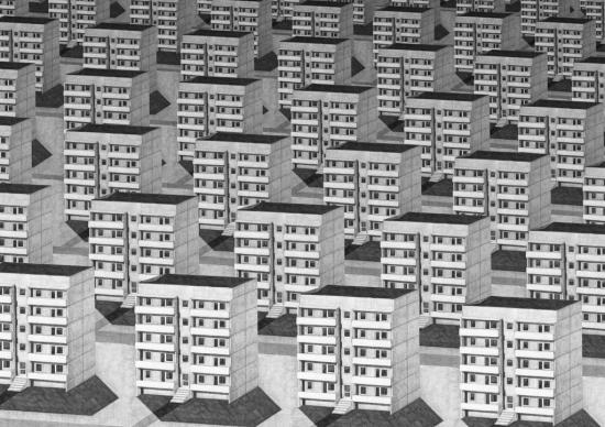 Plattenbauten, c David Kroeswang